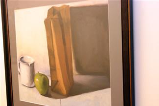 Keane Painting