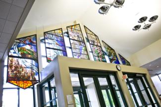 Stained Glass Windows in Ozinga