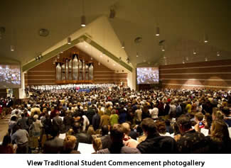 View Traditional Student Commencement Photogallery