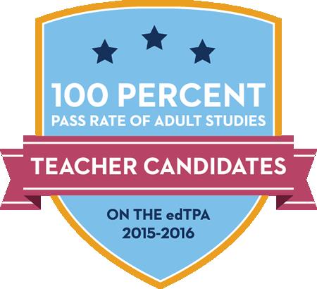 100% edTPA pass rate