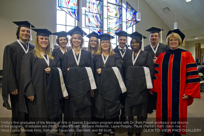 1425d234c91 Trinity Graduates First Master s Degree Students - Photogallery ...