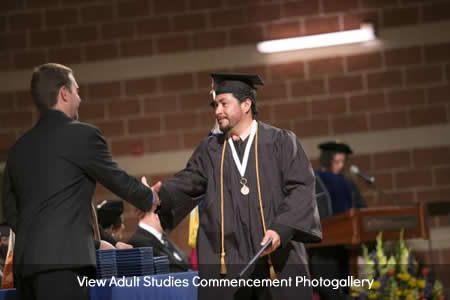 View Adult Studies Commencement Photogallery