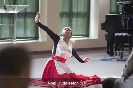 Noel Huddleston '17 - MLK Celebration