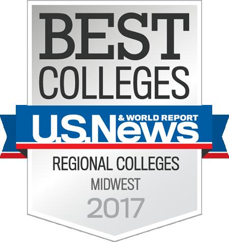 U.S.News Best Midwest Regional College Top Tier School