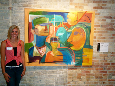 Trinity Student Exhibits at ArtPrize in Grand Rapids