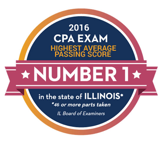 CPA 2016 Number 1 - Highest Average Passing Score
