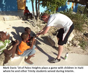 Haiti - Playing with Kids