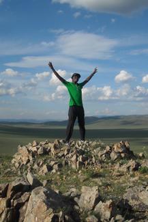 Clifton Hurt in Mongolia - 4