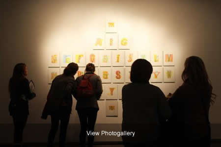 Art Visit Day - Students enjoying the gallery