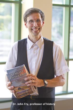 Dr. John Fry, professor of history