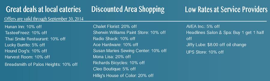 Discounts ending 09/30/14