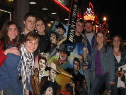 Some CMC friends and I in downtown Nashville