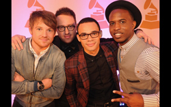 Royal Tailor at the Grammys. Photo credit Grammy.com