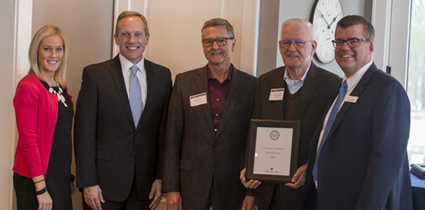 Honorary Faculty Alumnus of the Year - Burt Rozema