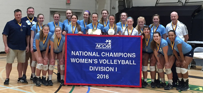 2016 Volleyball Nationals Champions