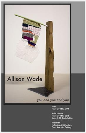 Wade Exhibit Poster