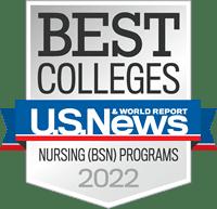 U.S.News Best Colleges Nationally Ranked Nursing BSN Program 2022
