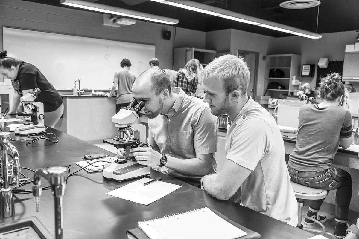 biochemistry and molecular biology black and white