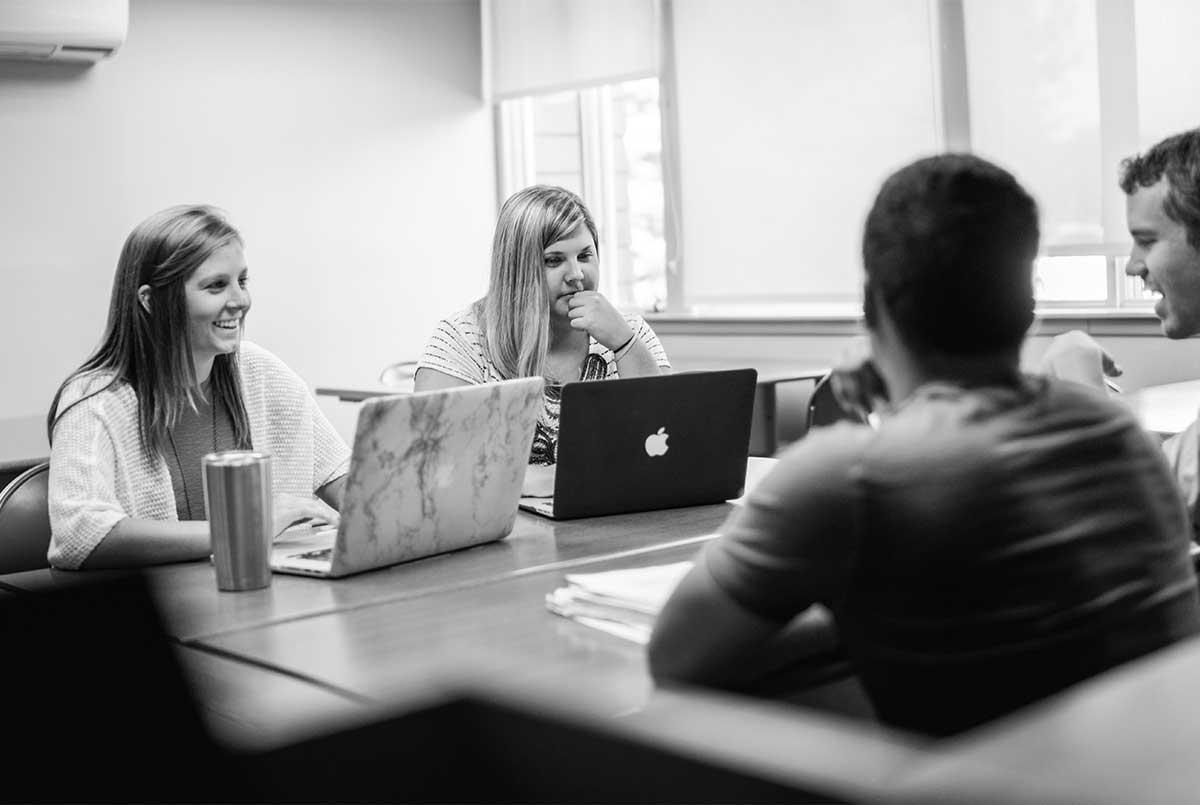 Entrepreneurial Management Degree black and white