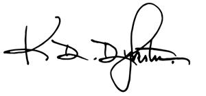 Kurt Dykstra Signature
