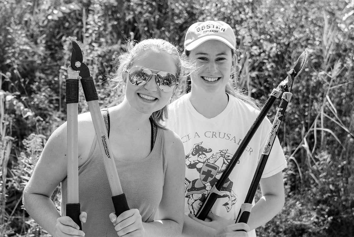Trinity Biology Environmental Studies Minor black and white