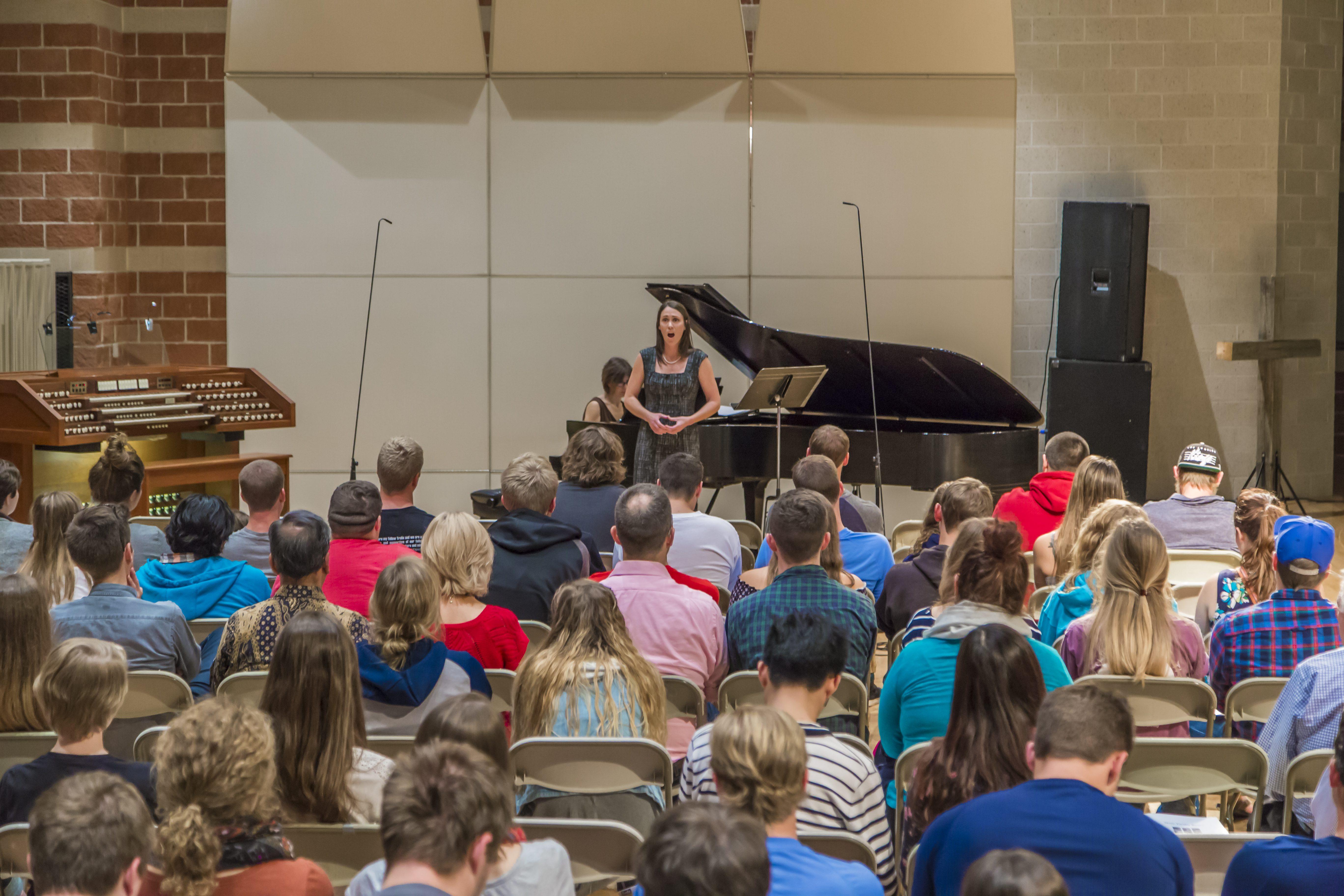 music faculty recital performance