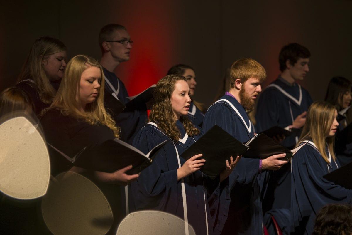 fall choral concert choir