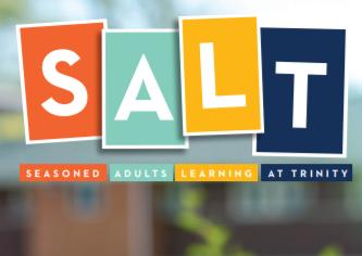 Seasoned adults learning at trinity logo