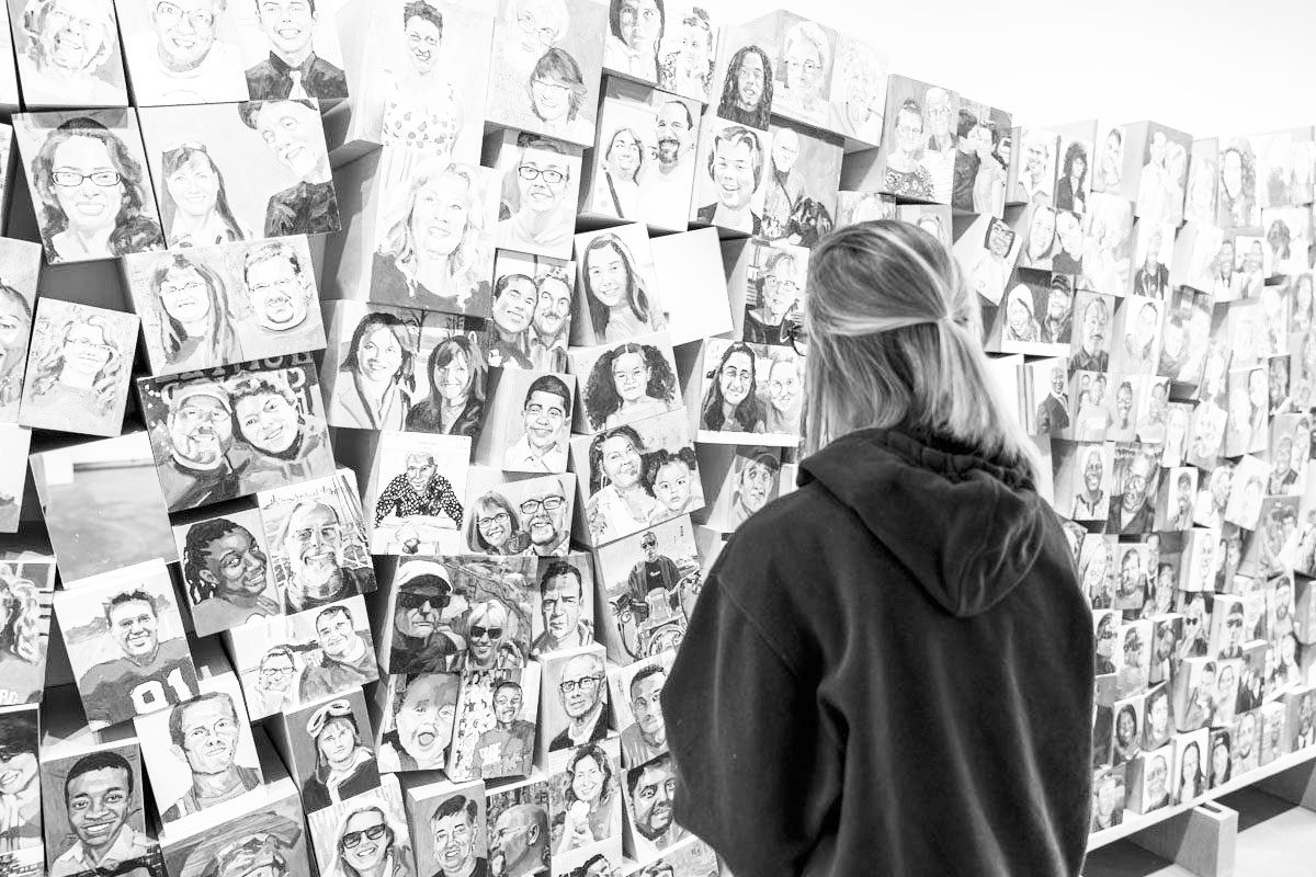 studio art bachelors in fine arts black and white