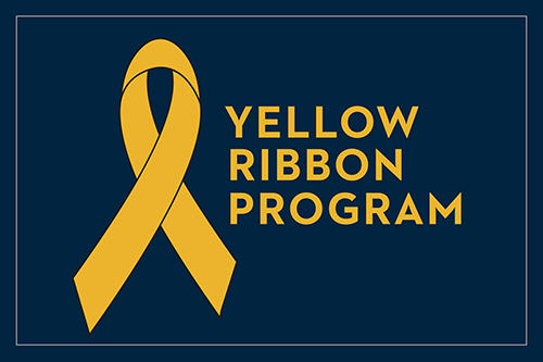 Veterans May Be Eligible to Attend Trinity Tuition Free Yellow Ribbon Program graphic main