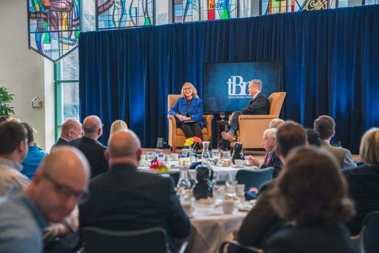 Mary Andringa interviewed by President Kurt Dykstra