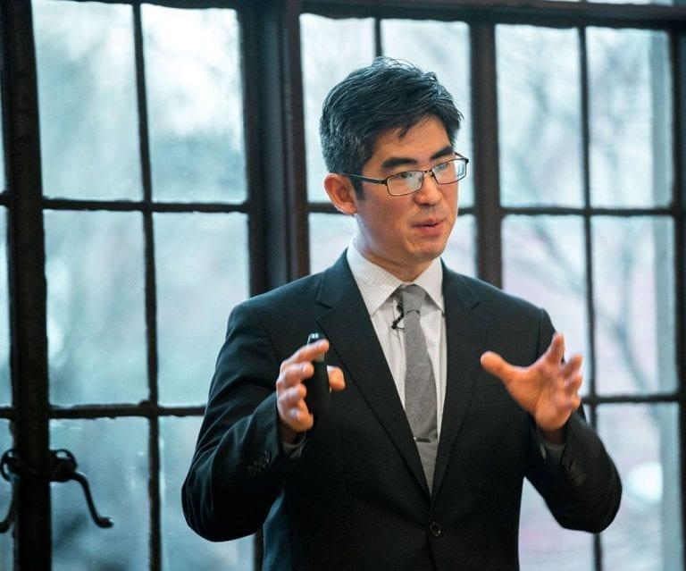 John Hwang speaks at WorldView