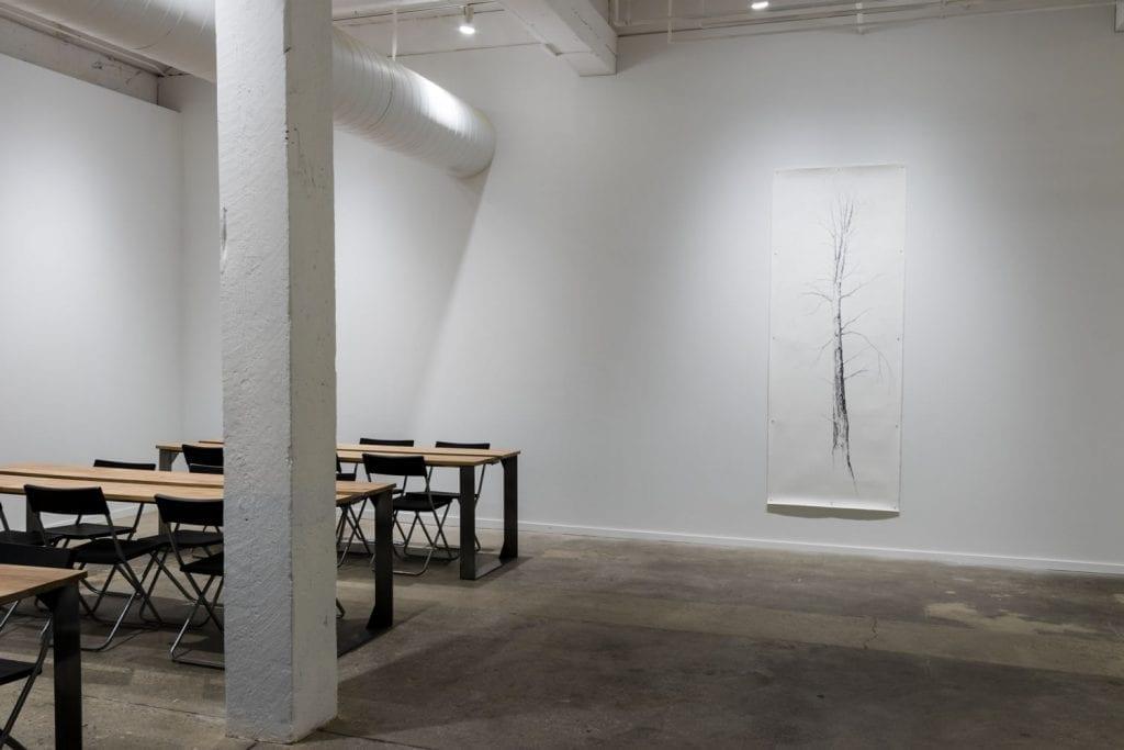 Amber Ginsburg and Sara Black - 7000 Marks Exhibit