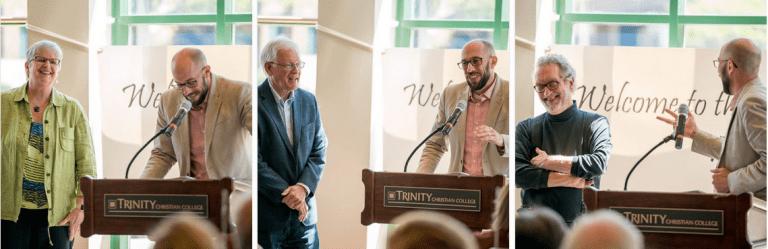 Prof. Van Wyck, Rozema and Bakker receive staff recognition awards
