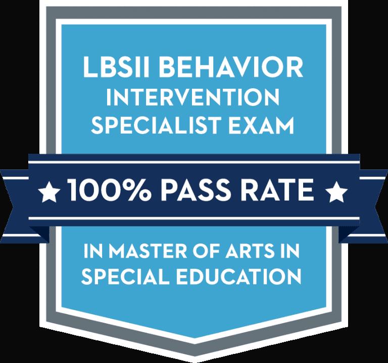 LBS II 100% Pass Rate badge