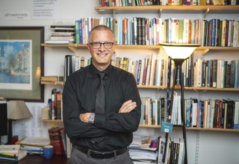 Dr. Craig Mattson in office