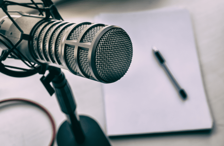 Podcasting microphone