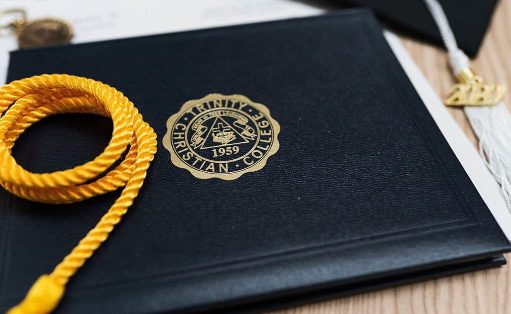 Diploma cover and tassel