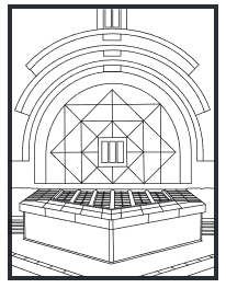 Trinity Coloring Book - Chapel page
