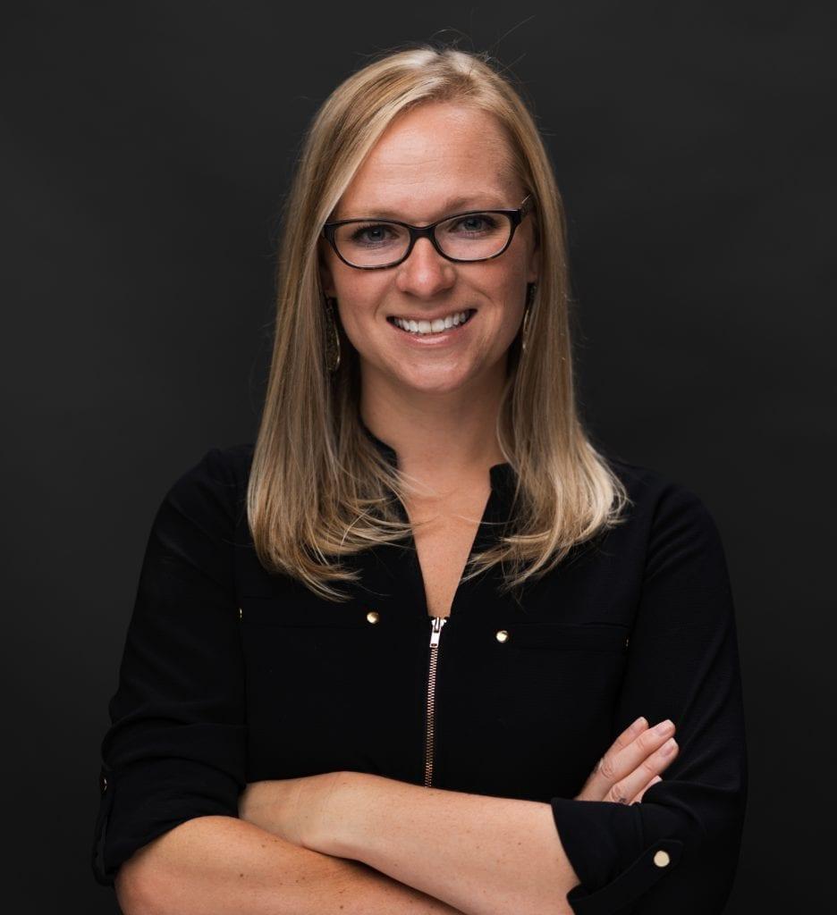 Nursing professor Ashley Fajardo