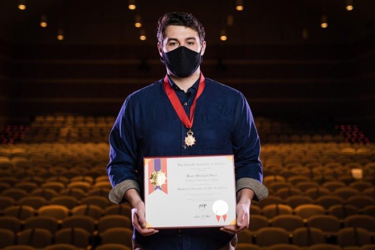 Ross Barz awarded Lincoln Laureate 2020