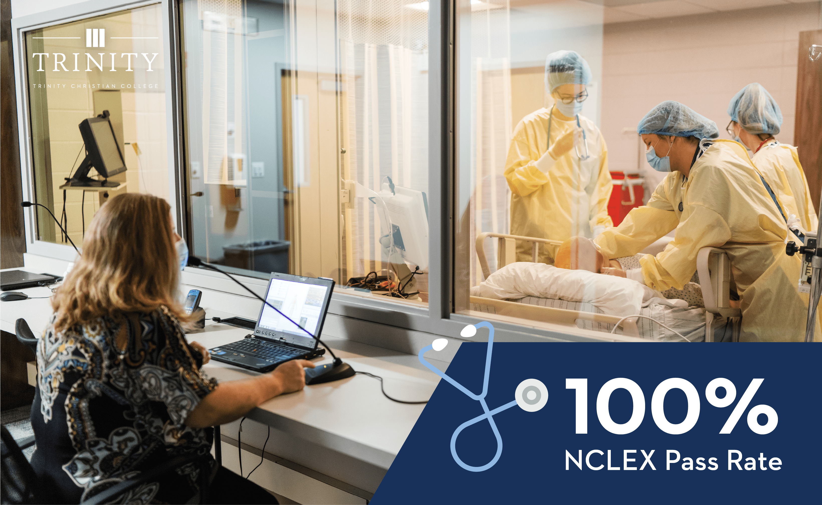 100% NCLEX pass rate