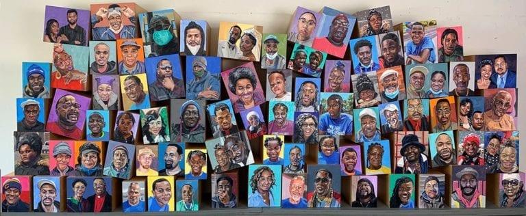 Prof John Bakker portrait project