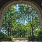 Virtual Background - Library Main Arch
