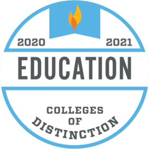 2020-2021 Colleges of Distinction - Education