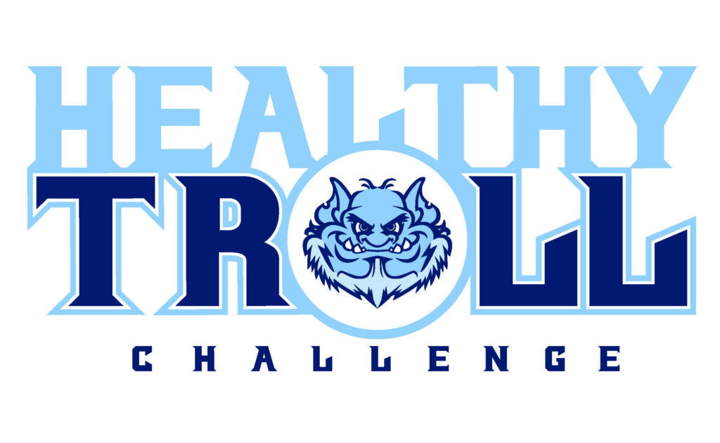 Healthy Troll challenge logo