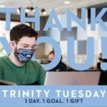 Trinity Tuesday Thank You