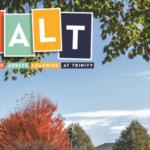 SALT logo on brochure