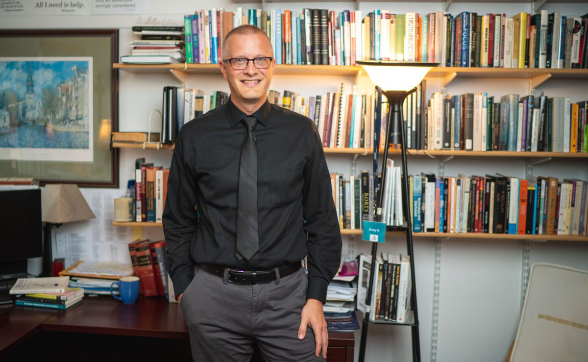Craig Mattson Communication Arts professor