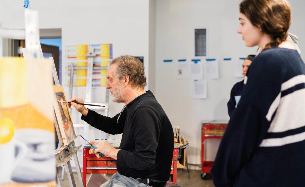 John Bakker painting class